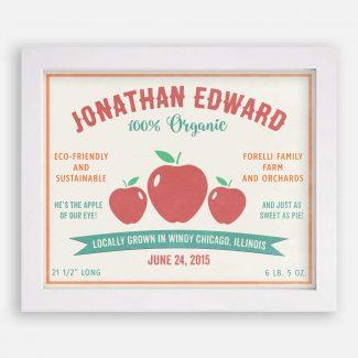 Apples Locally Grown Custom Fruit Crate