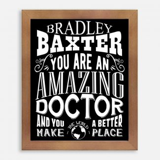 Doctor Amazing Custom Gift For Physician
