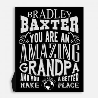 Grandpa Amazing Custom Gift For Father