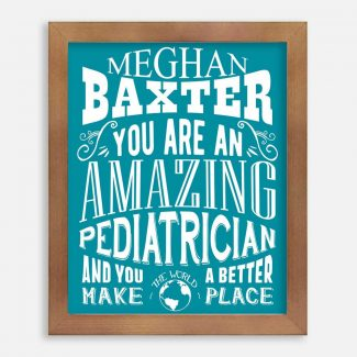 Pediatrician Amazing Custom Gift For Doctor