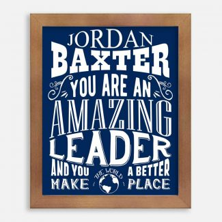Leader Amazing Custom Gift For Visionary