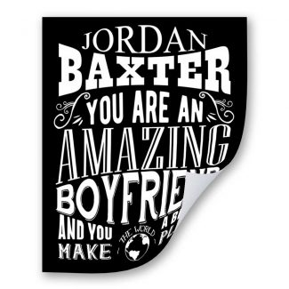 Boyfriend Amazing Custom Gift for Men