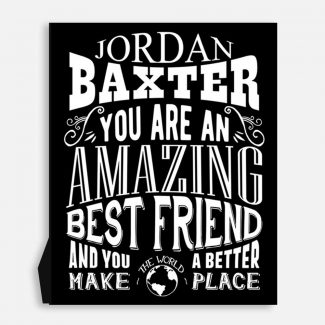 Best Friend Amazing Custom Gift For