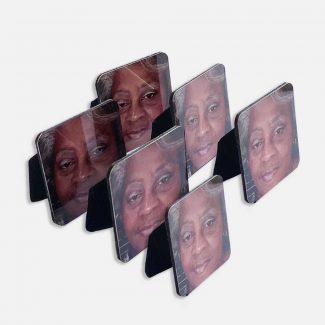 Mini Metal Memorial Photos Set