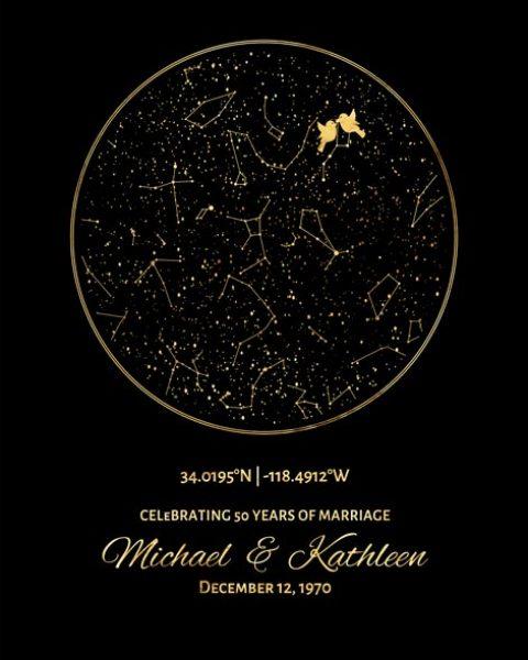Custom 50 Year Anniversary Gift Art Proof for Mike/Kathleen H.