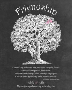 Read more about the article Custom Freindship Gift Art Proof for Kim D