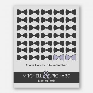 A Bow Tie Affair To Remember Gift For Couples