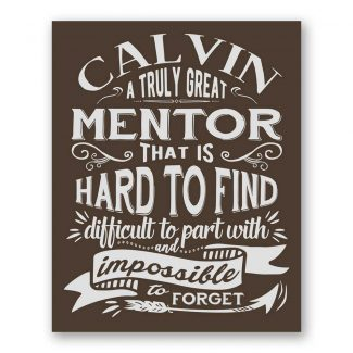 A Truly Great Mentor Difficult To