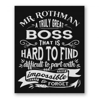 A Truly Great Boss Hard To