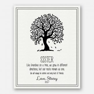 Personalized Gift For A Sister, A