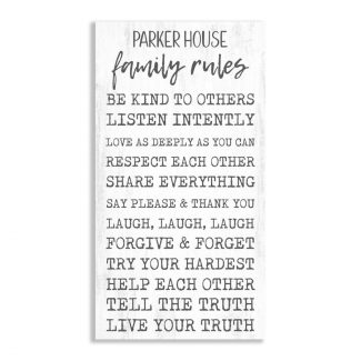 Family House Rules – Be Kind