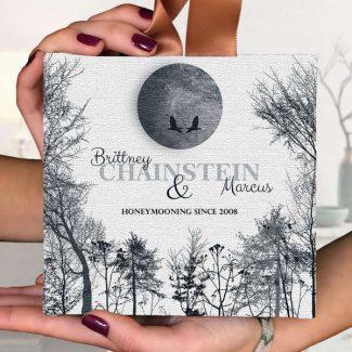 Honeymoon Gift, Full Moon Wedding Gift,