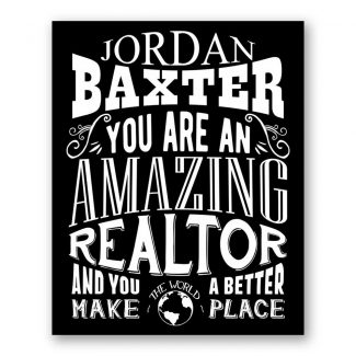 Realtor Amazing | Closing Gift For