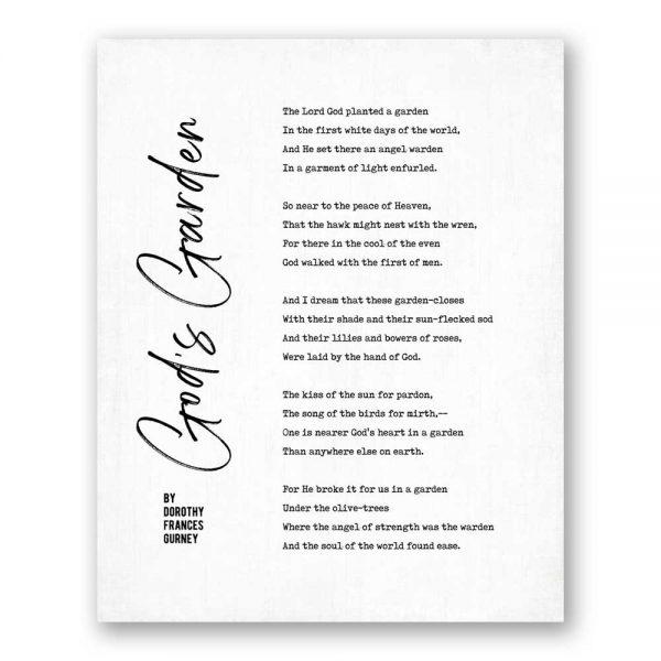 Sympathy poem entitled