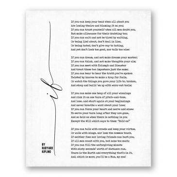 Read more about the article If Poetry by Rudyard Kipling