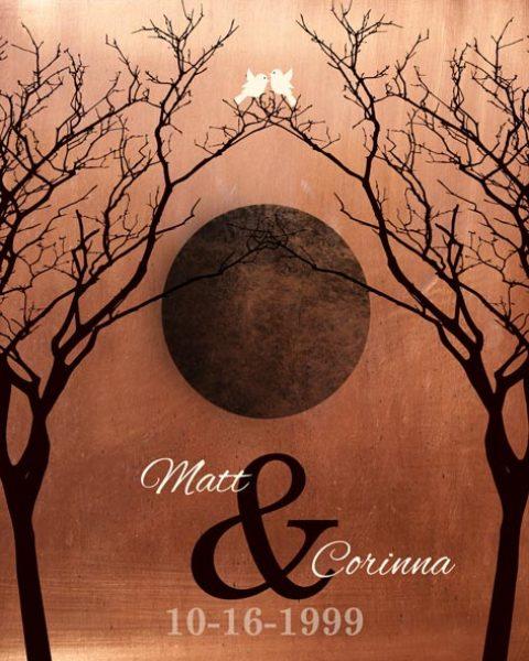 Custom 10 Year Anniversary Gift Art Proof for Corrina O.
