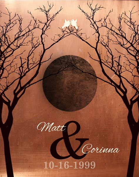 You are currently viewing Custom 10 Year Anniversary Gift Art Proof for Corrina O.